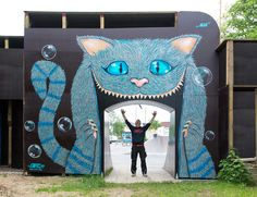 Two thumbs up from us! Right on Cafe 77 in Germany for this corker (http://globalstreetart.com/cafe77).