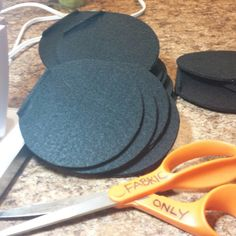Hand cut ears for your hats.