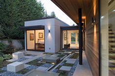 Geometric garden in Seattle