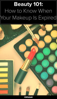 How do you know when to throw out your #makeup?