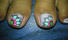 Nail Art, Nails, Nail Designs Pictures, Feet Nails, Flowers, Art, Finger Nails, Ongles, Nail Arts