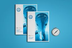 DEZA's design of annual report for on Behance