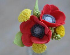 Girasole & lavanda sentivo Bouquet di fiori / di LeaphBoutique