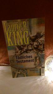 Laurie R. King - Tödliches Testament