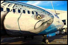 "N792AS Alaska Airlines 737-490 ""Salmon Thirty Salmon"""