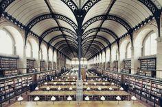 Bibliothèque Sainte-Geneviève, Paris. Photo credit: © Franck Bohbot