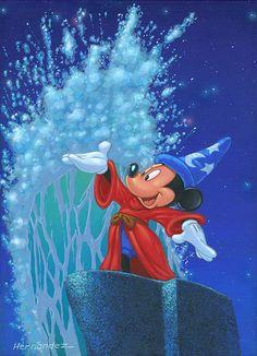 Splash: By Manuel Hernandez, Disney Fine Art