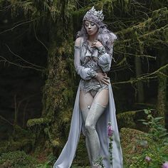 My another one, fairytale image from my magic forest  with @ophelia_overdose model💕in outfit from @miss.overdose.shop #agnieszkalorek #mywork #fairytail #fairytale #fairy #fantasy #fancydress #costume #freespirit #magic #forest #lavender #violet #colourful #moss #shoot #wales #cymru #cardiff #ornaments #lavenderhair