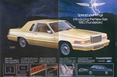 1980 Ford Thunderbird  - here's another car my Mom drove for a while. She had this in the early 90s I believe.