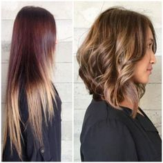 TRANSFORMATION: A Perfect Caramel LOB | Modern Salon
