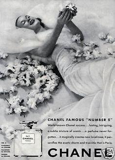 ADVERT Art Deco FRENCH PERFUME BRIDE GARDENIA JASMIN