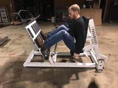 Paramount Commercial Leg Press DRP 900 - $750 (Fairmount) | Sports Goods For Sale | Champaign�Urbana, IL | Shoppok Diy Gym Equipment, Commercial Gym Equipment, No Equipment Workout, Diy Bar Stools, Home Gym Design, Garage Gym, Weight Training, Workout Equipment