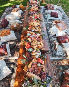 Grazing Tables: 18 Ideas and How to Make Your Own - - From charcuterie to sushi to desserts, you'll love these delicious grazing table ideas, bursting with all the best things in life! Party Food Platters, Cheese Platters, Cheese Table, Antipasto, Charcuterie And Cheese Board, Charcuterie Wedding, Cheese Boards, Charcuterie Picnic, Wedding Catering