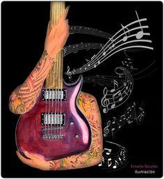 Guitarra Estrella Nicolás