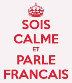 Oui au français! Je suis québecoise, et je suis fière de l'être, le français est…