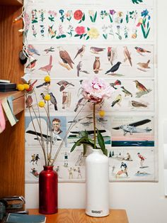 """""""A dorm room can often feel sterile or dusty. Adding flowers makes it seem like it has a life of its own."""" 