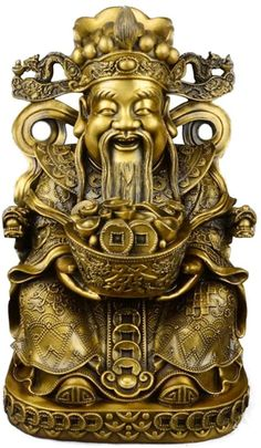 DANCHUN Opening-of-Light Pure Copper Geomancy Artware/Auspicious Business Gifts Suitable for Living Room/Enterprise and So On Feng Shui Products (Size : S) Chinese Style, Chinese Art, Big Pineapple, Business Gifts, Dark Fantasy Art, Collectible Figurines, Pure Copper, Chinese Culture, Asian Art