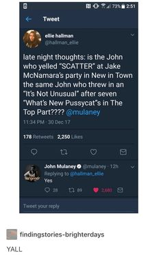 John Mulaney's friend John is featured multiple times throughout the former's standup routines. Dc Memes, Funny Memes, Jokes, Funny Cute, The Funny, Hilarious, John Mulaney, Pokemon, Street Smart