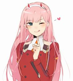 Anime picture darling in the franxx zero two (darling in the franxx) ruuto-kun long hair single tall image 548152 en Otaku Anime, Anime Manga, Anime Art, Beautiful Anime Girl, Anime Love, Querida No Franxx, Cute Girls, Cool Girl, Comics Anime