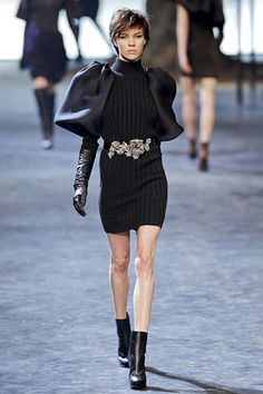 Lanvin Fall 2011 - love that belt