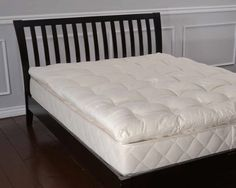 bio sleep concept organic wool 3inch twin size mattress topper
