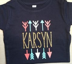 Little Girls Custom Shirt-Personalized Girls by SassyGirlsDesign
