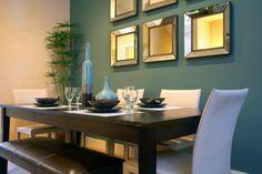 farbgestaltung wohnzimmer wandgestaltung wanddesign esszimmer