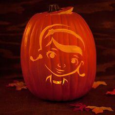 Doc+McStuffins+Pumpkin+Template