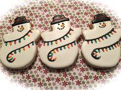 Trio of Snowmen | Cookie Connection