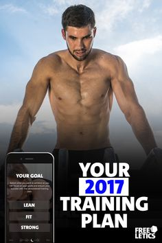Ready to make a change? 2017 is your year. Personalized training plans. Build muscle fast and healthy. Try out 11 workouts for free. Start today: https://www.freeletics.com