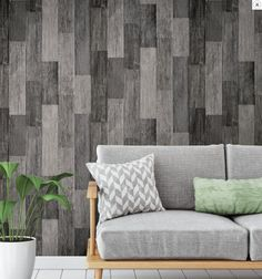Customize any space or decor with Weathered Wood Plank Black Peel and Stick Wallpaper by RoomMates. Offering a fresh new alternative to decorating with very little commitment, use Peel and Stick Wallpaper for more than just walls. Wood Plank Wallpaper, Look Wallpaper, Peel And Stick Wallpaper, Classic Wallpaper, Stone Wallpaper, Weathered Wood, Barn Wood, Rustic Wood, Stick On Wood Wall