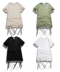 High State Apparel — Ribbon Style T Shirt