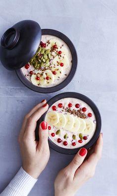 Tuorepuuro | Maku Culinary Arts, Gluten Free Recipes, Camembert Cheese, Acai Bowl, Favorite Recipes, Ethnic Recipes, Food, Breakfast Ideas, Glutenfree