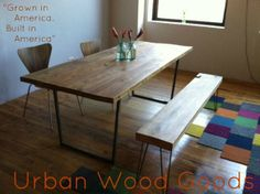 LEG BASE DIMENSIONS http://krrb.com/posts/17445-reclaimed-wood-industrial-table-with-steel-legs