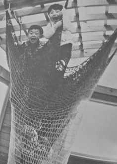 Climb, Lie Down, Tumble, Roll was one of the first crochet playgrounds by Toshiko Horiuchi Macadam
