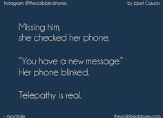 Replace with him* .! ;) always notification from her put smile of his face.!