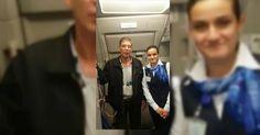 #HeyUnik  Ternyata Tak Hanya Penumpang, Pramugari Juga Selfie dengan Pembajak Egypt Air #Antariksa #Fotografi #Kriminal #YangUnikEmangAsyik