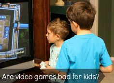 My son loves video games. Here's why I don't think that is such a bad thing.
