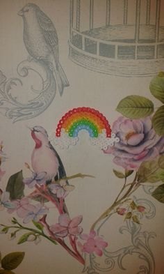 #Rainbow #Hama #Beads