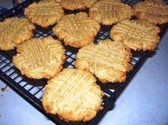 Vegan Peanut Butter Cookies    Recipe Source: Chloe's Vegan Desserts by Chloe Coscarelli    Makes about twenty-two 3-inch cookies. ...