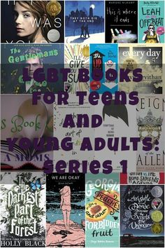 LGBT books for teens and young adults: Series 1. Book club, lesbian, bisexual, gay, coming out, amazing reads, good reads