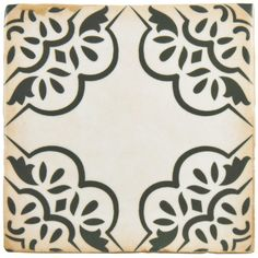 "Found it at Wayfair - Arquivo 4.88"" x 4.88"" Ceramic Field Tile in Ornate"