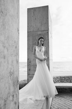 Delancy Wedding Dress by CHOSEN by ONE DAY BRIDAL - Empire Collection | View on LOVE FIND CO.