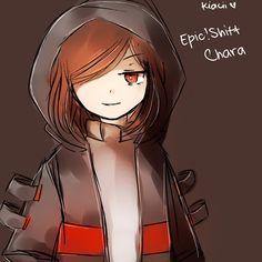 Epictale x Storyshift - Chara by kyashee