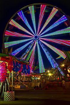 Ferris Wheel - Marietta, Georgia.  Special events such as fairs and carnivals always make for a fun session.