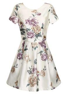 Chi Chi Floral print mini dress - Dorothy Perkins