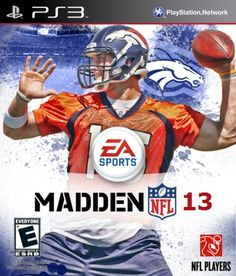 Proposed Tim Tebow Madden 13 on PS3