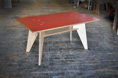 Super simple table from Kerf that rocks my world.  Do. Want.