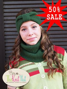 Hey, I found this really awesome Etsy listing at https://www.etsy.com/listing/189247083/on-50-sale-knit-scarf-winter-cowl