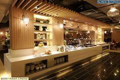 Restaurant Buffet Counter: